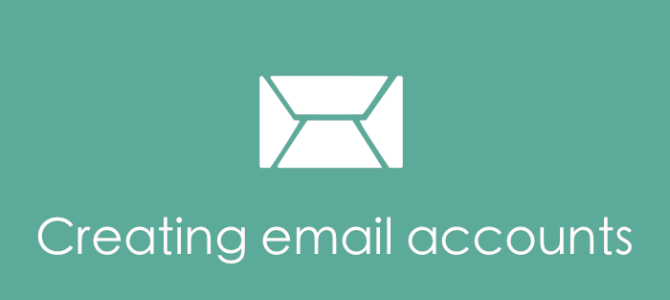 Creating email accounts for your band or music project