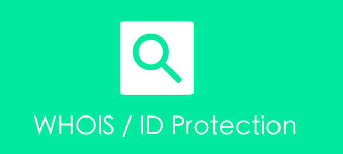 WHOIS / ID Protection for your music site