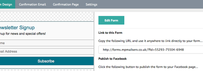 Creating Hosted Singup Forms for Facebook, Twitter, Soundcloud and YouTube