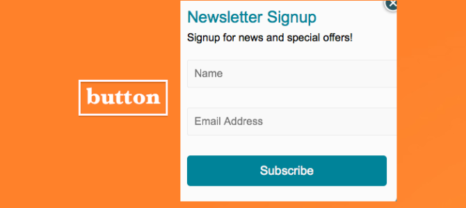 Creating a Popup Singup Forms for your website or blog