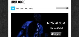 Musician-Website